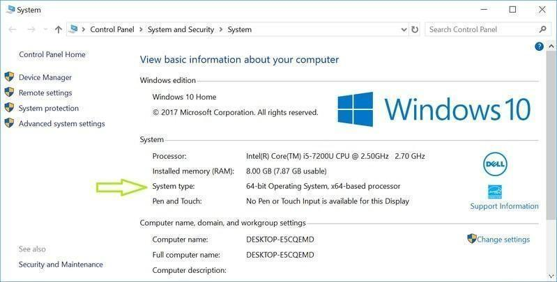 Windows 10 не будет поддерживать 32-битные процессоры